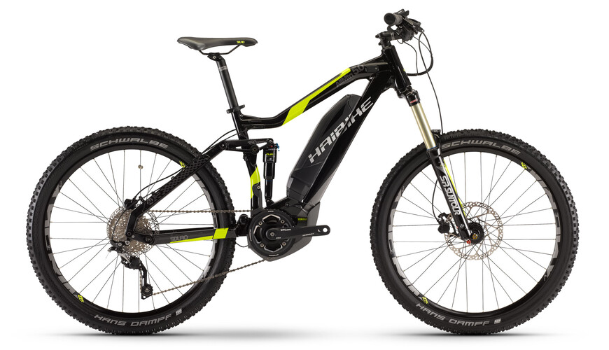 """HAIBIKE Sduro AllMtn 5.0 E-Bike 27,5"""" zwart"""